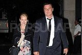 Naomi Watts and Liev Schreiber went to dinner together in NYC.