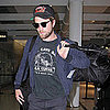 Robert Pattinson With a Beard at Toronto Airport Pictures