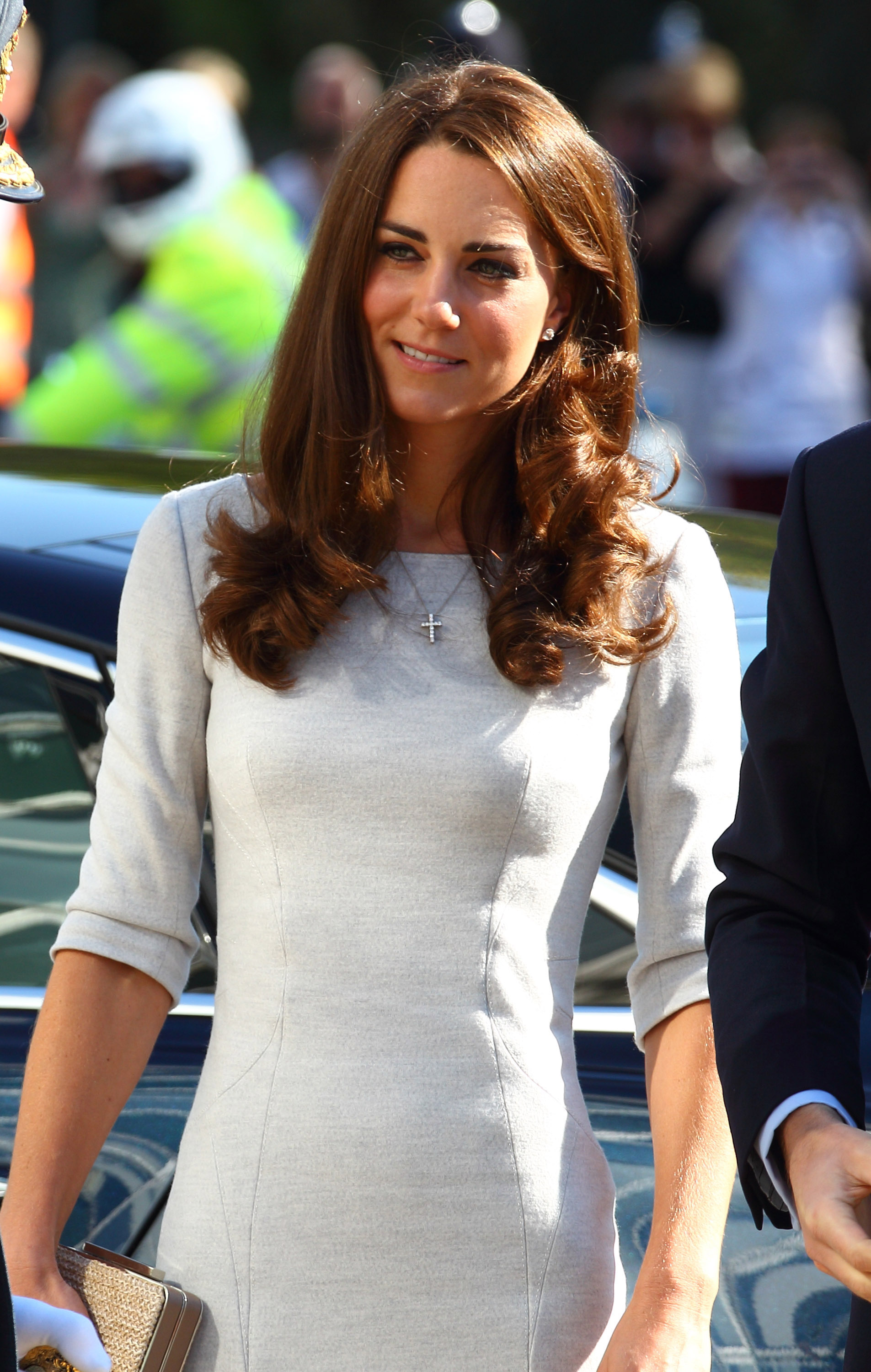 Kate Middleton visited a hospital in London.