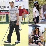 Jessica Biel Watches Justin Timberlake Hit the Links at the Shriners Open