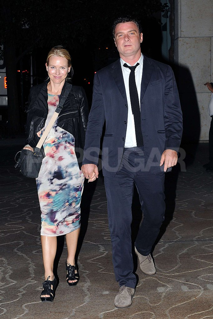 Naomi Watts and Liev Schreiber celebrated Naomi's birthday.