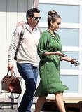 Jessica Alba and Cash Warren together in LA.