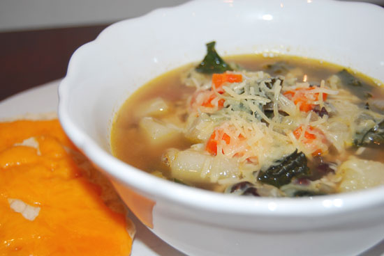 Kale Potato Bean Soup