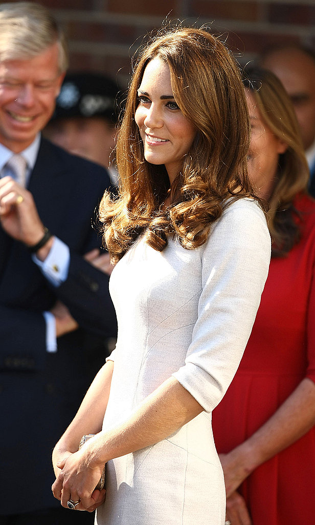 Kate attends the hospital opening.