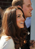 Will and Kate visit the new cancer center.