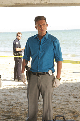 Desmond Harrington as Joey Quinn on Dexter. Photo courtesy of Showtime