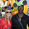Heidi Klum and Family at Disneyland Pictures