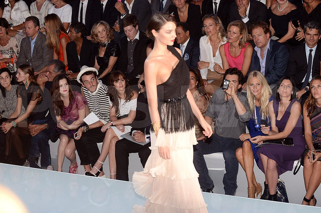 Orlando Bloom takes a photo of his wife Miranda Kerr!