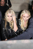 Mary-Kate and Ashley Olsen went to Paris Fashion Week.