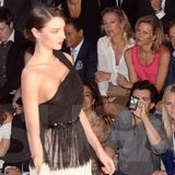 Miranda Kerr and Orlando Bloom at Paris Fashion Week (Video)