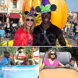 Heidi Klum and Seal Get Goofy With Their Kids at Disneyland!