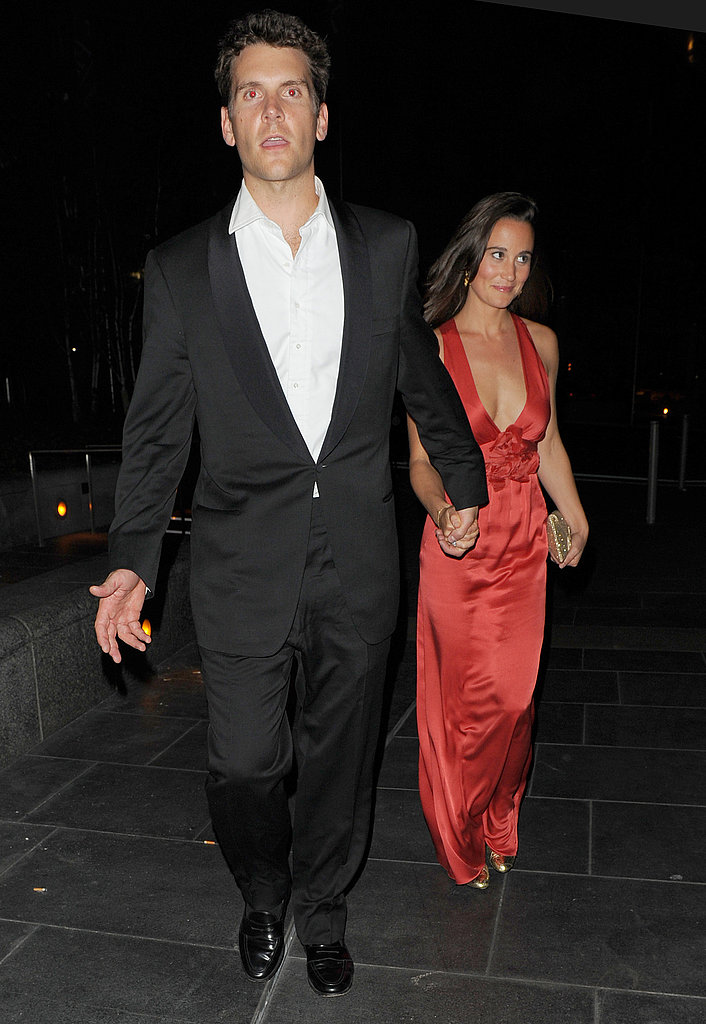 Pippa Middleton and Alex Loudon in London.