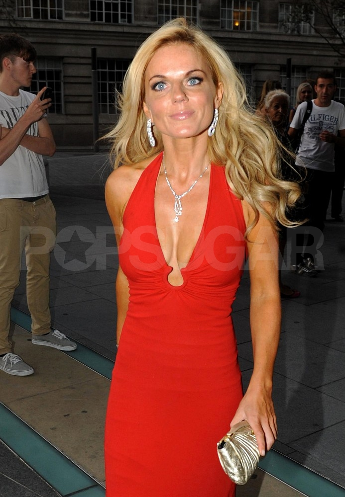 Geri Halliwell heads to the Boodles Boxing Ball.