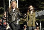 Robert Plant and Patty Griffin of Band of Joy