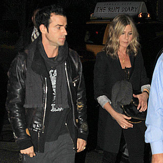Jennifer Aniston and Justin Theroux at SNL Party Pictures