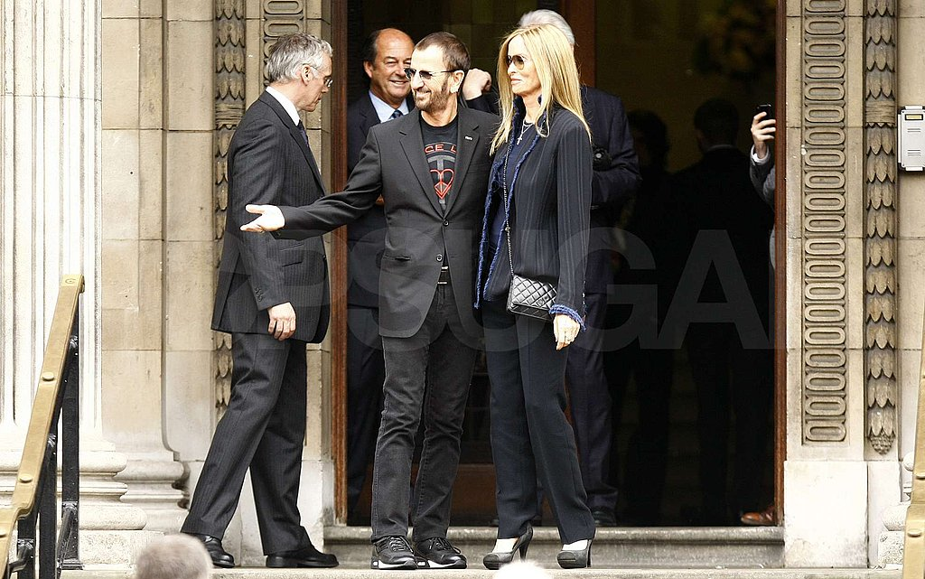 Ringo Starr attended Paul McCartney's wedding.