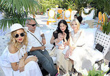 Rachel Zoe, Jason Bleick, Arthur, Selma Blair and Jaime King