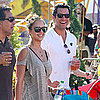 Jessica Alba, Cash and Honor Warren Visit Pomona Fair Pictures