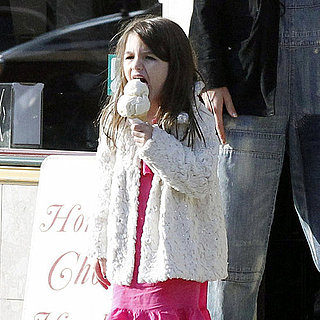 Katie Holmes and Suri Cruise Get Ice Cream in PA Pictures