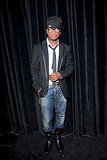 Ne-Yo turned out for the Givenchy party in Paris.