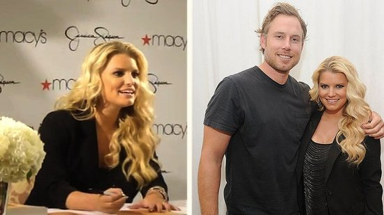 Video: Jessica Simpson and Eric Johnson Stay Close Amid Pregnancy and Wedding Date Rumors