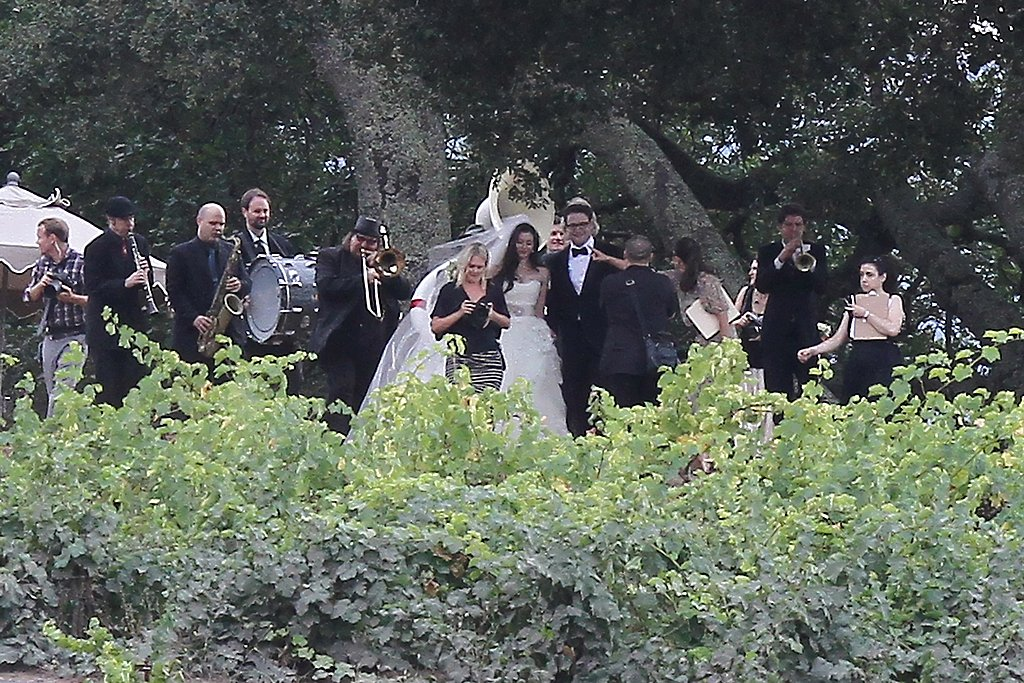 Seth and Lauren got married among the vines in Sonoma.