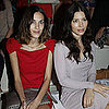 Miranda Kerr and Jessica Biel at Paris Fashion Week Pictures