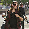 Jennifer Garner Pregnant in LA Pictures