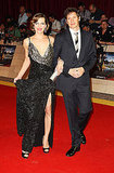 Milla Jovovich and Paul W.S. Anderson at the London premiere of The Three Musketeers.