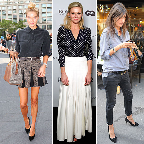 Celebrity Lookbook: 15 Awesome Iterations of the Classic Button-Down