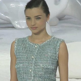 Watch Miranda Kerr Walk at the 2012 Spring Summer Chanel Show at Paris Fashion Week