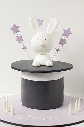 Magic Hat Bunny Cake