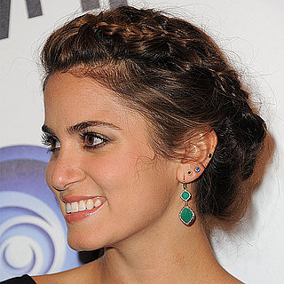Nikki Reed Braided Updo