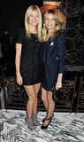 Gwyneth Paltrow and Cameron Diaz partied in Mayfair, London.