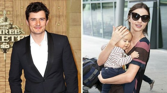 Video: Miranda Kerr and Flynn Join Orlando Bloom After His Musketeers Premiere