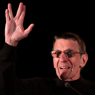 Leonard Nemoy at Last Star Trek Convention