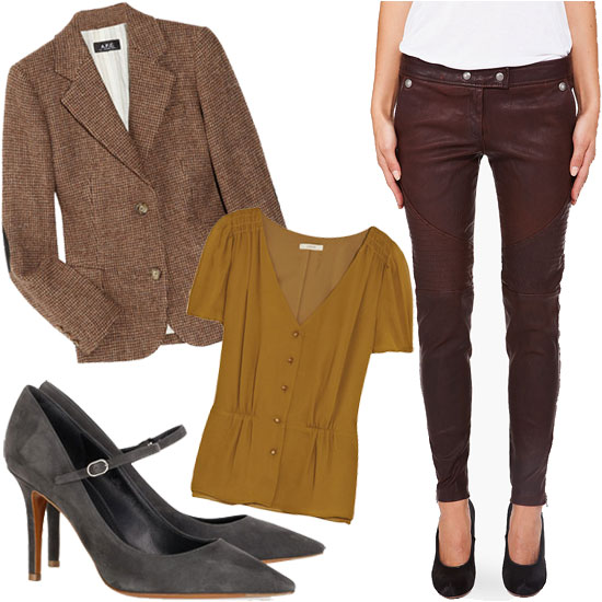 Max Out Your Fall Investment: These Luxe Leather Leggings Styled 5 Ways