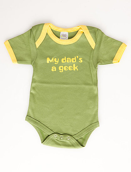 My Dad's a Geek Onesie ($24)