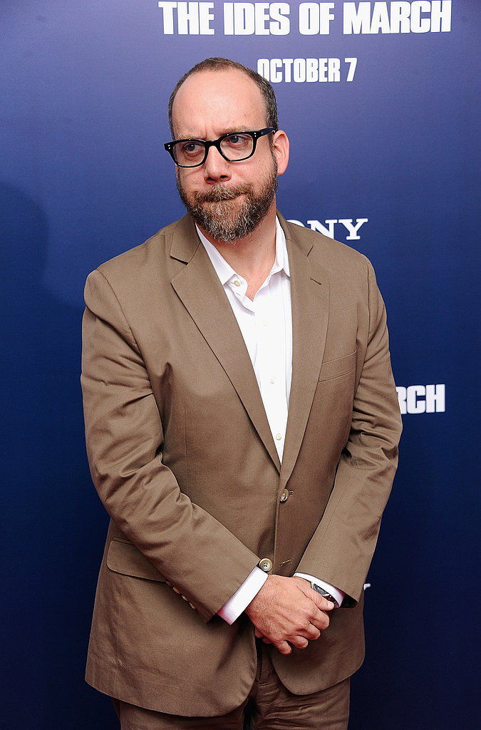 Paul Giamatti in NYC for the premiere of The Ides of March.