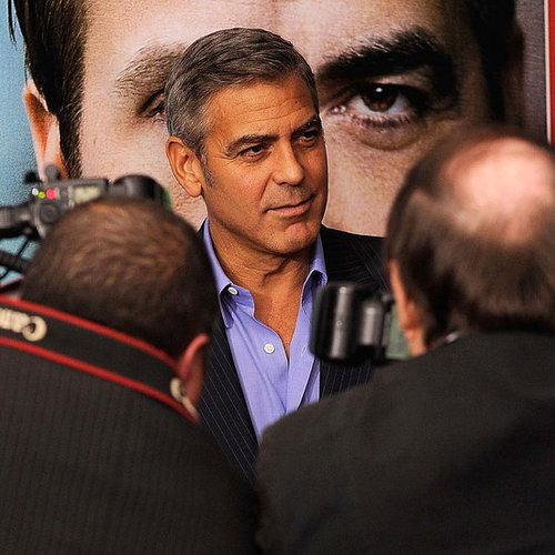 George Clooney Pictures at NYC Ides of March Premiere