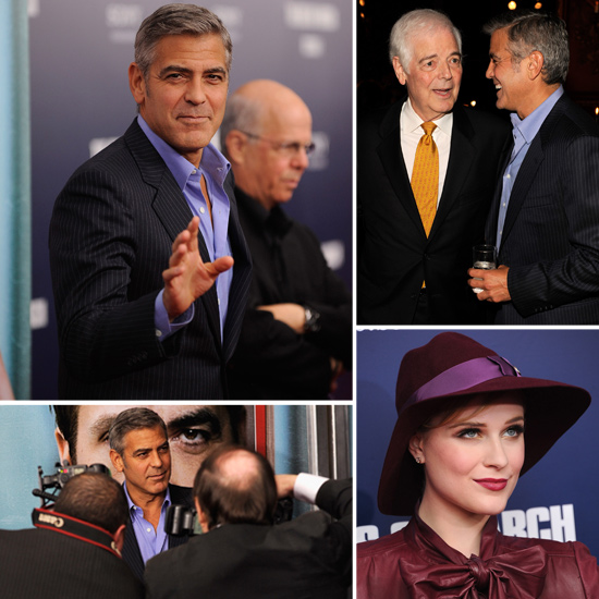 George Clooney Celebrates Family at His Ides of March Premiere