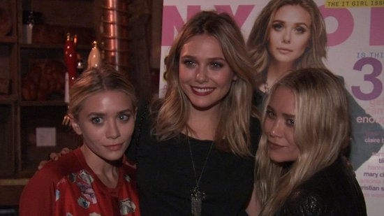 Video: Mary-Kate and Ashley Surprise Sister Elizabeth at NYC Party