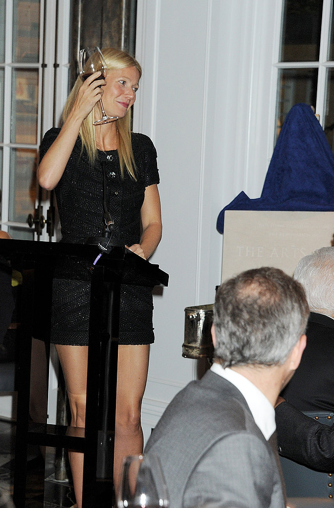 "Gwyneth Paltrow Sings Cee-Lo For Prince Philip and Says, ""Please Don't Tell the Queen!"""