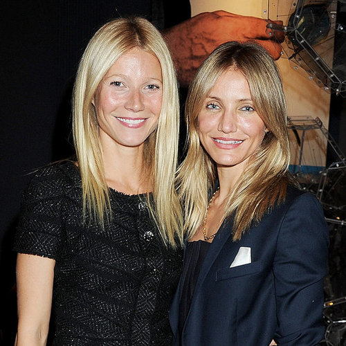 Gwyneth Paltrow and Cameron Diaz With Prince Philip Pictures