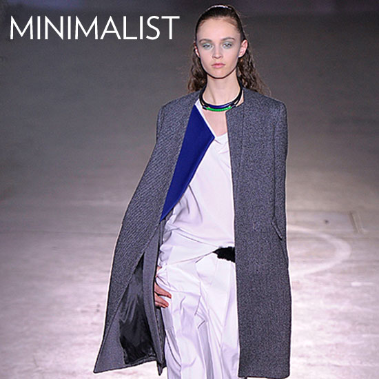 Why we love it: Minimalist, understated coats are a wardrobe mainstay. You can invest in a great version, like Phillip Lim's, and rest-assured that the clean lines and classic shape isn't going anywhere. How to wear it: Be sure to look for a fit that sits snugly on the shoulders to flatter, then opt to wear it with menswear-inspired separates for a sleek, tomboy finish.  Shop the runway: 3.1 Phillip Lim Wool-Blend Twill Coat ($1,100)