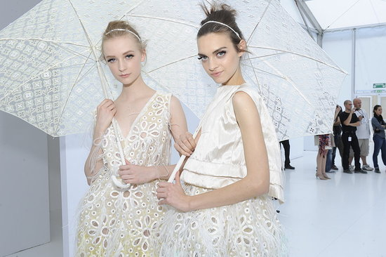 A Look Backstage at Alexander McQueen, Stella McCartney, Giambattista Valli, Chloe, Valentino, YSL, and Louis Vuitton