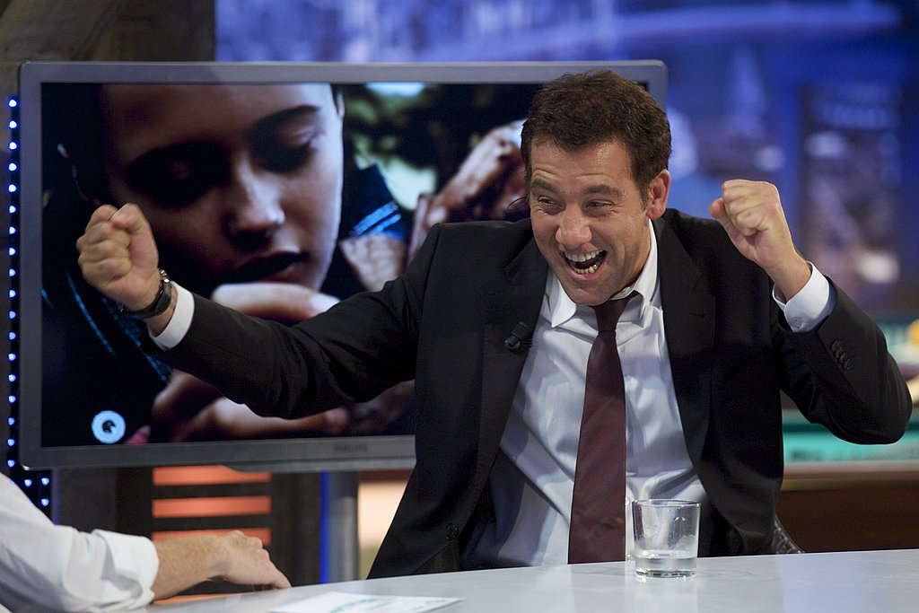 Clive Owen lets loose on El Hormiguero.