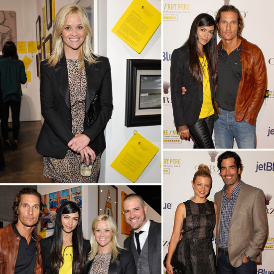 Reese Witherspoon and Matthew McConaughy Have a Double Date Night For Livestrong