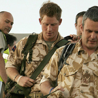 Prince Harry Pictures Arriving in the US For Training