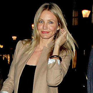 Cameron Diaz Pictures at Jude Law's London Play